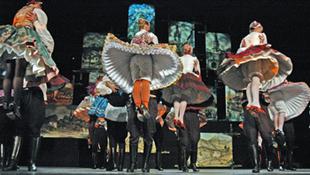 Lendván vendégszerepel a Honvéd Táncszínház