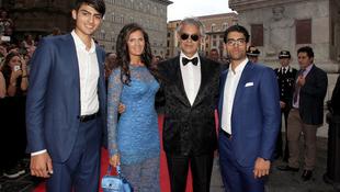 Jótékonyság és sztárparádé Firenzében Andrea Bocellivel