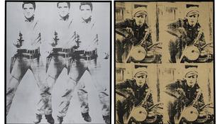 Warhol-művek kalapács alatt