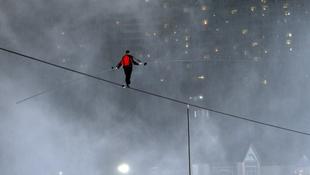 Cirkusz a felhőkarcolók közt