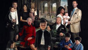 Megfestették a dán királyi családot