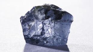 Kiállítják a kék gyémántot