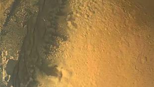 Videón láthatjuk a Marsra érkezést