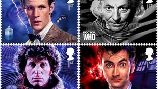 Bélyegeken az 50 éves Doctor Who
