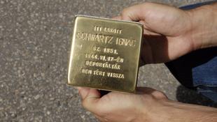 Emlékező kövek Budapesten