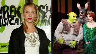 Cameron Diaz nem játszik a Shrek musicalben