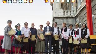 Kioszották az idei Népművészet Mestere-díjakat