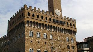 Római kori színház a firenzei Palazzo Vecchio alatt