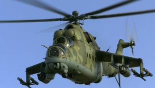 Újabb katonai helikopteres vonulás a főváros felett
