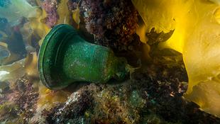 Bronzharangot találtak a tenger mélyén
