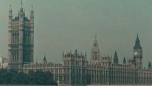 Retró felvétel Londonról