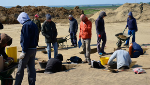Magyar csontvázakat találtak a horvát falvak közt