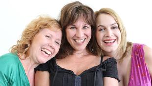 Dermedési pont három színésznővel