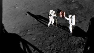 Eddig ismeretlen felvételek kerültek elő a holdra szállásról!