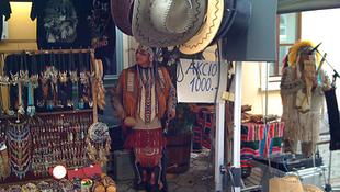 Rettenthetetlen indiánok Tokajban