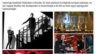Facebookon írták: Budapestre tart a sztárpár