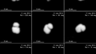 Kettős üstökös a Rosetta űrszonda célpontja