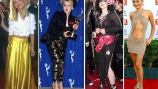 A legrusnyább ruhák az Emmy-díjátadó történetében