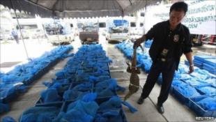 Rekord varánuszfogás Thaiföldön