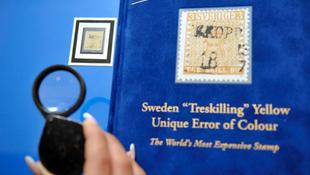 Mennyit ér a világ legdrágább bélyege?