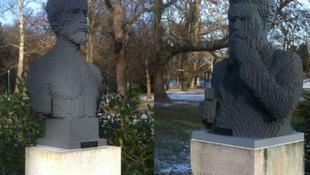 Lego-szobrok pótolják az ellopottakat a Margitszigeten