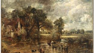 John Constable képeiből nyílik kiállítás Londonban