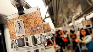 Monet és Picasso a kínai metrókon