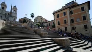 Újabb útlezárások Rómában