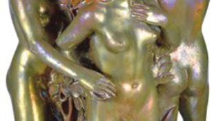 Rekord árat fizettek egy Zsolnay-vázáért
