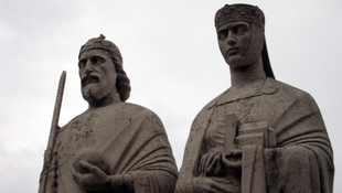 Veszprémben a Királyi pár
