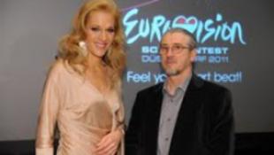 Wolf Kati megy az Eurovízióra!