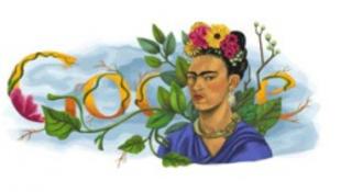 Frida Kahlóra emlékezik a Google nyitólapja