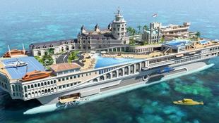 Luxusvárost húznak fel a tenger közepén