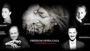 Az időjárás miatt költözött a Szabadság Operagála