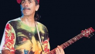 Carlos Santana a tequila rabja lett
