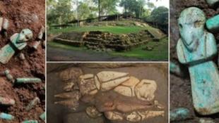 Megtalálták a hatalmas maja uralkodó sírját