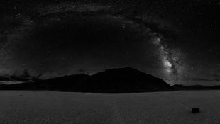A Death Valley ege a legsötétebb
