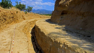 Rendkívüli síremlék Görögországban