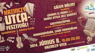 Fesztivál készül a Kazinczy utcában