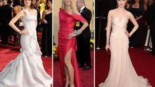 Az Oscar-díjátadó legszebb és legrondább ruhái