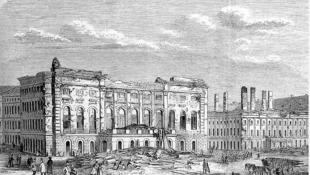Egy eltűnt épület nyomában