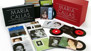 Újra kiadják Callas összes stúdiófelvételét