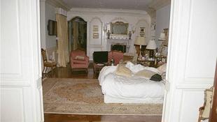 Így nézett ki Jacko hálószobája