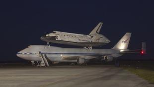 Udvarházy szerezte meg a kiselejtezett amerikai űrsiklót