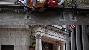 Megrohamozták a New York-i tőzsdét