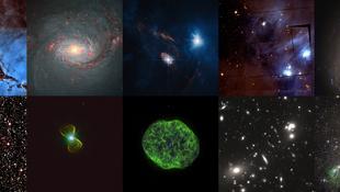 Előkerültek a Hubble rejtett kincsei
