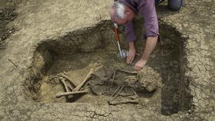 5000 éves sírt találtak Bojtnál