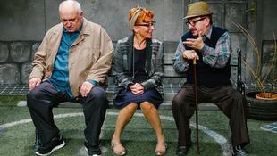 Két öreg barát és egy hölgy