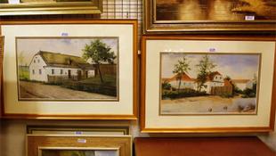 Egyre népszerűbbek Hitler festményei