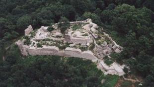 Kiegészült Drégely várának alaprajza